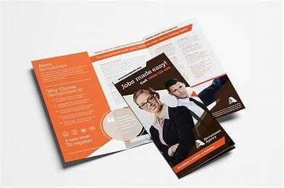 Fold Brochure Tri Template Corporate Templates Vol