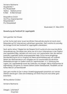Fachkraft Für Lagerlogistik Bewerbung : muster bewerbung als fachkraft f r lagerlogistik ~ Eleganceandgraceweddings.com Haus und Dekorationen