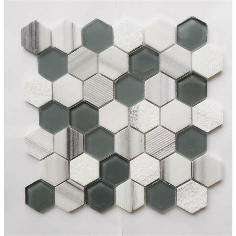 Lowes Canada Hexagon Tile by 46 Best Images About C 233 Ramique Mosaic Verre On