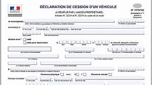 Document Pour Vente De Voiture : d claration de vente carte grise express ~ Gottalentnigeria.com Avis de Voitures