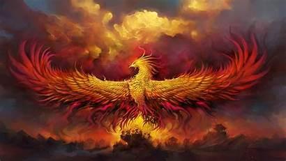 Phoenix Fiery Wallpapers Digital Artist 4k Deviantart