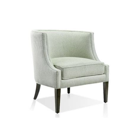 tub chair with woven grey fabric decorate