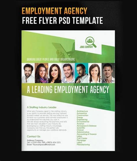 recrutement bureau d ude 30 best free business flyer and brochure templates in psd