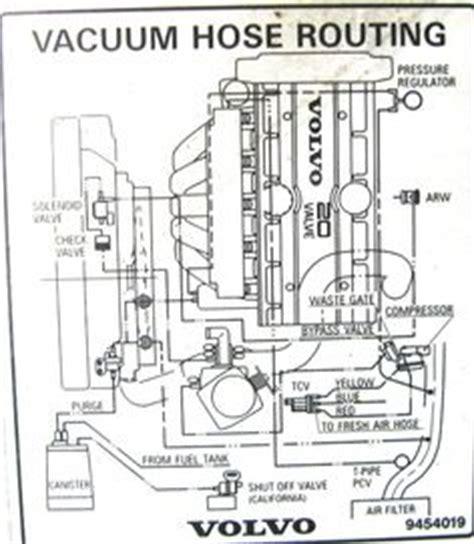 service manual vacuum system install  volvo xc