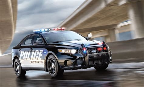 Ford To End Police Interceptor Sedan Production In March