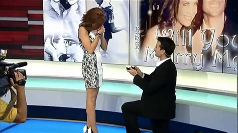 Local 10's Trent Aric proposes to Jacey Birch