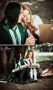 professor snape and lilly potter   Lily Evans. Married to ...
