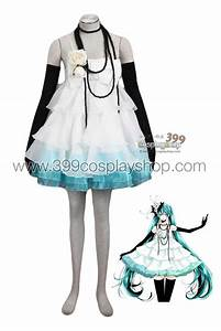 Vocaloid – Hatsune Miku Just a Game Cosplay Costume ...