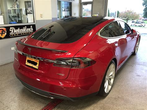 2016 Tesla Model X P90d Deep Blue Metallic Picture Gallery