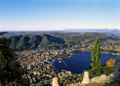 Panoramio - Photo of Como from Brunate
