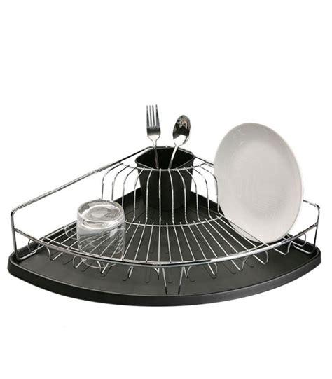 cuisine evier angle égouttoir à vaisselle d 39 angle en inox et bac récupérateur
