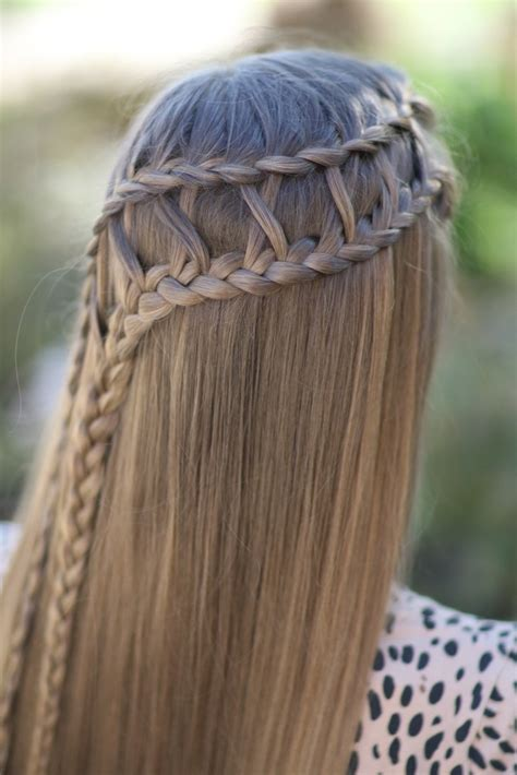 Hairstyles In Braids by Lattice Braid Combo Hairstyles