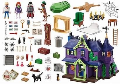 Doo Scooby Mansion Mystery Avontuur Playmobil Nieuw
