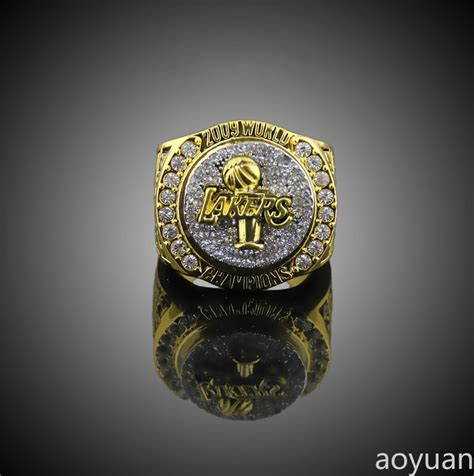 best gifts for lakers fans aoyuan chionship rings kobe bryant 2009 basketball los