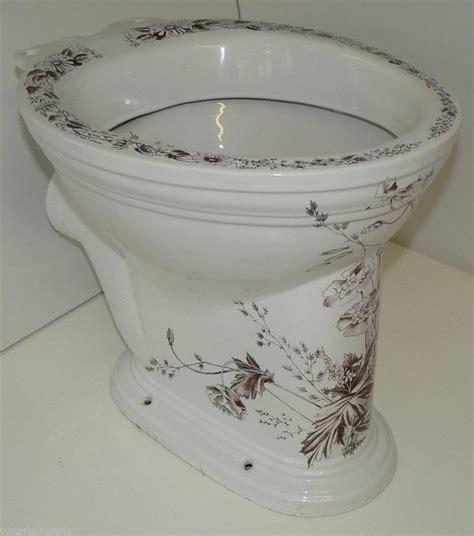 Sanitan washdown bc 16251 water closet toilet floral