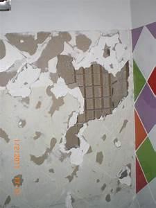 Enlever Carrelage Sur Placo : r parer un mur en placo alv oler ~ Dailycaller-alerts.com Idées de Décoration