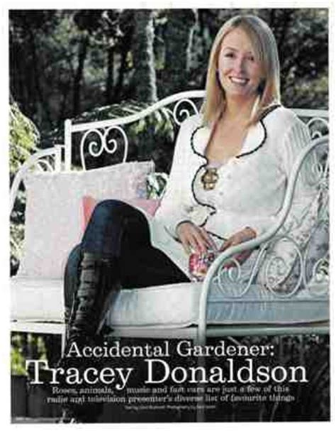 tracey donaldson press home and garden magazine