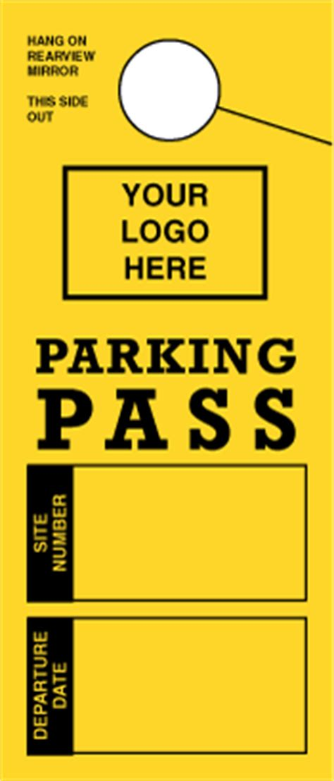 Hanging Parking Permit Template Free by Carbonless Forms Carbonless Duplicate Forms Carbonless