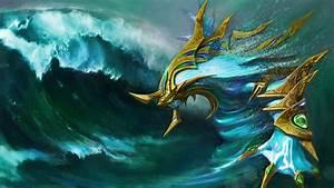 Picture DOTA 2 Morphling Fantasy Games Waves