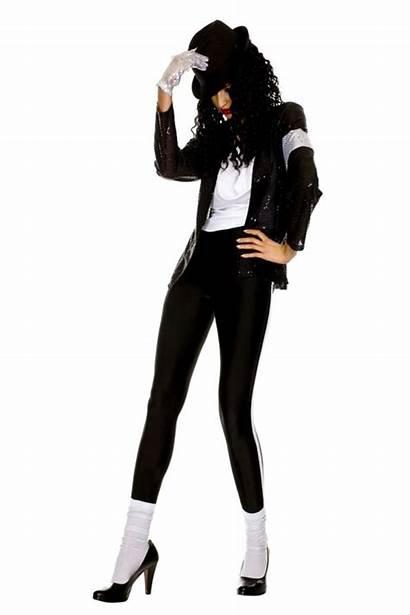 Jackson Michael Costume Billie Jean Halloween Ladies