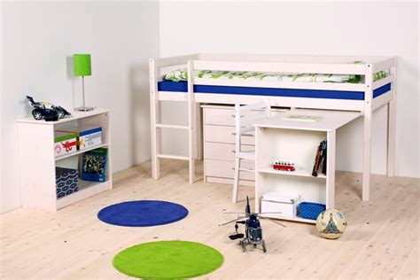 lit en hauteur avec bureau lit mezzanine mi hauteur avec bureau my
