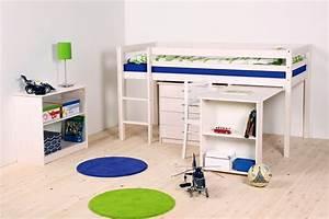 Lit Mezzanine Mi Hauteur : lits mi hauteur junior ~ Melissatoandfro.com Idées de Décoration