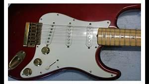 Fender Stratocaster The Strat 1980 Candy Apple Red Vintage