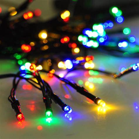 solar outdoor string lights 100 led solar string light outdoor garden lawn