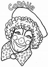 Coloring Pages Clowns Clown Coloringpages1001 sketch template