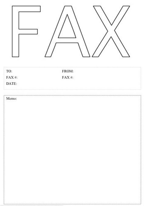 microsoft fax cover sheet  printable letterhead