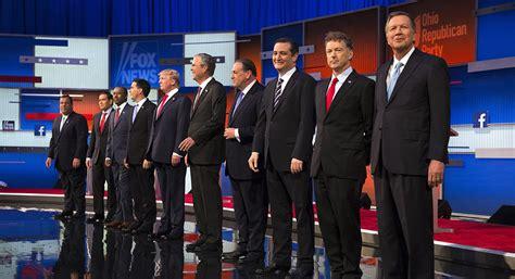 presidential debate schedule  times