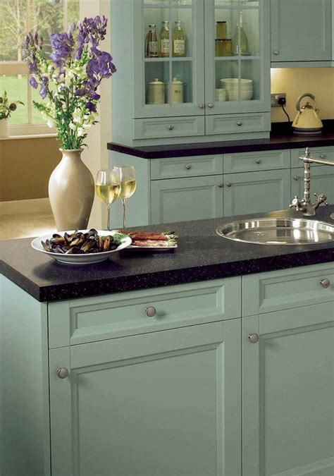 duck egg kitchen cabinets arundle duck egg painted kitchen cabinets kitchen 6984