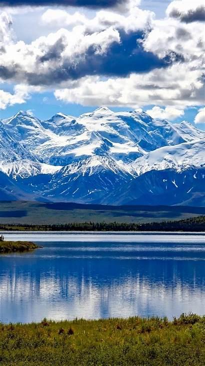 Denali National Wallpapers Alaska Park Snow Mountains