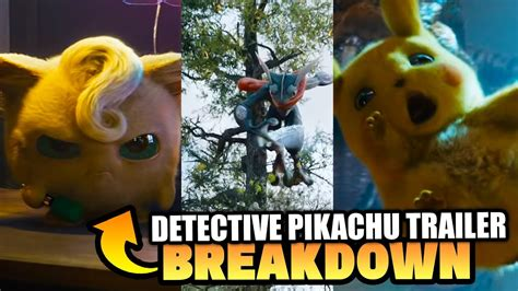 New Pokemon Movie Trailer! Detective Pikachu 2019 Movie