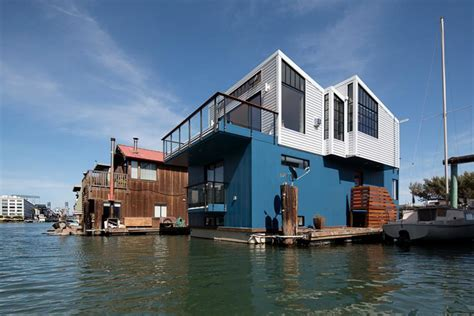 Tiny Modern Floating House in San Francisco   2015 Fresh