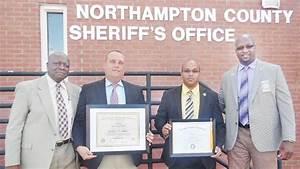 Northampton Sheriff's Office duo recognized - The Roanoke ...