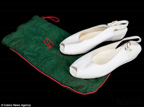 Diana Shoes by Princess Diana Shoes Set To Fetch 163 500 At Auction