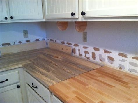 Beetle kill pine kitchen countertops   by mike1979