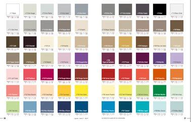 nuancier couleur peinture pour cuisine nuancier 70 couleurs peinture tout support colorissim v33