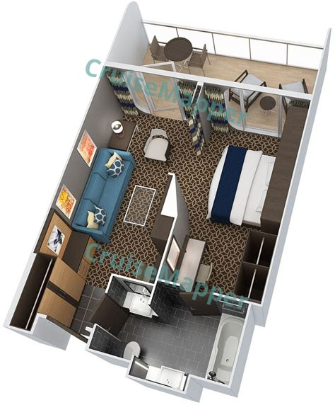 cabin plan anthem of the seas anthem of the seas cabins and suites cruisemapper