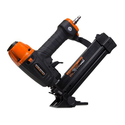 home depot flooring nailer wen 4 in 1 18 gauge pneumatic flooring nailer and stapler 61741 the home depot