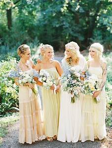 perfect mismatched bridesmaids chic vintage brides With boho wedding bridesmaid dresses