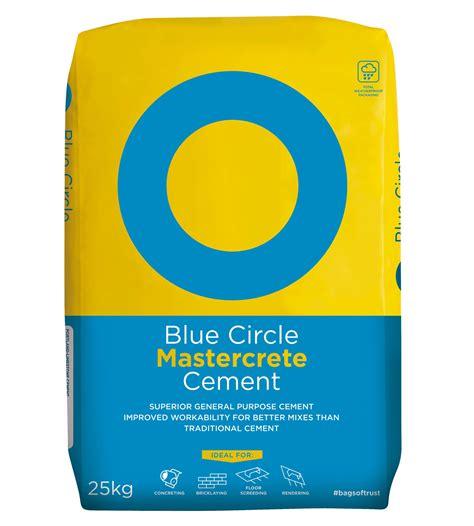 blue circle mastercrete cement kg bag departments