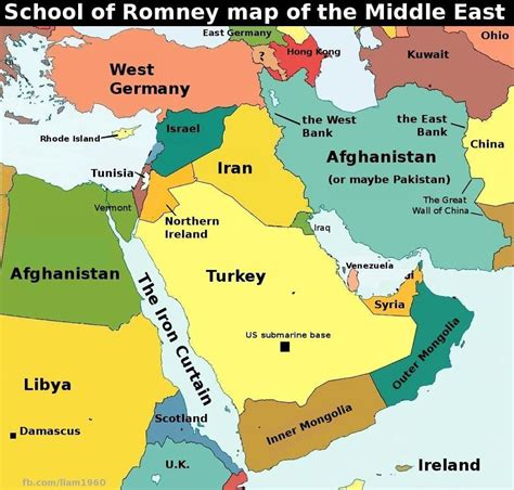 Romney Middle East Geography Fail Balloon Juice