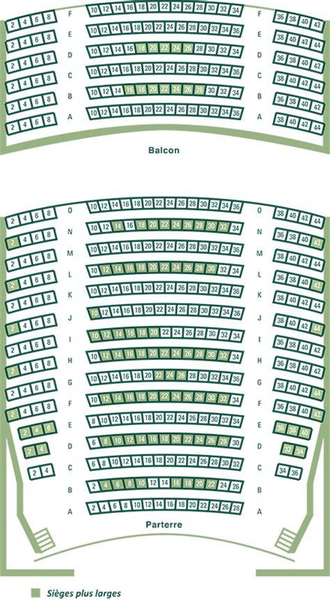 plan salle theatre du rideau vert