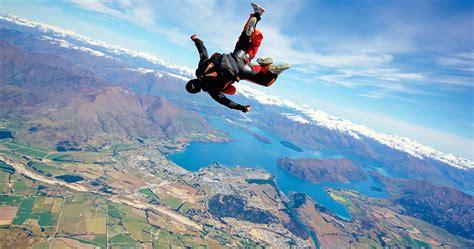 sky dive skydive wanaka wanaka tourism