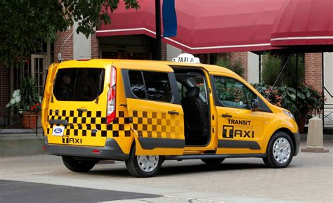 Ford Transit Connect Taxi Review