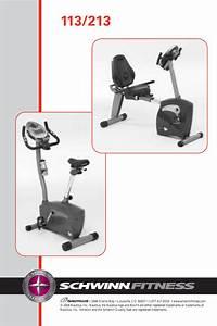 Schwinn Fitness Bike 113 213