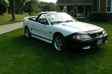 purchase   mustang gt convertible  miles