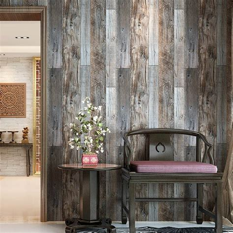 papel tapiz vintage diseno tablones madera blakhelmet
